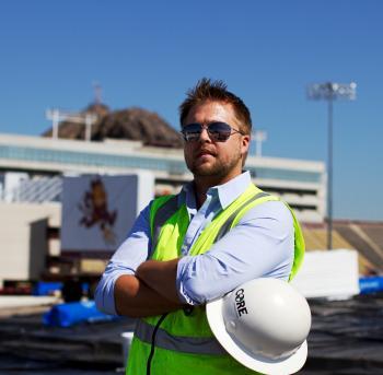 ASU Construction School Alum Emerson Ward