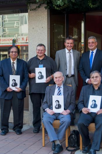 Leonhard Euler Prize 2014 awardees