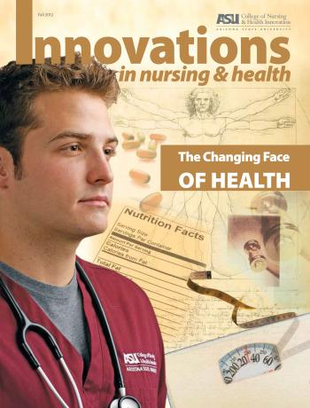 Cover of the fall issue of Innovations in Nursing & Health Magazine
