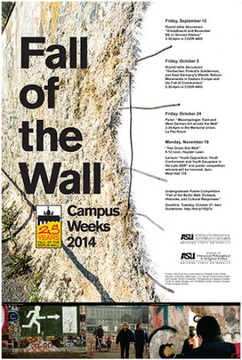 Fall of the Wall events at ASU
