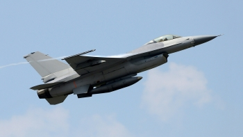 Fighter jet made with metal alloys