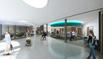 Rendering of Armstrong Hall Advising Hub