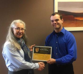 Cynthia Gaffney earns Tillman Honor Roll Award