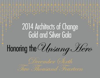 Unsung Hero fundraising event logo