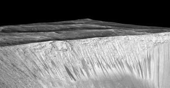 Grani Crater on Mars