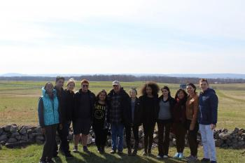 Students in the Policy Design Studio and Internship Program at Gettysburg.