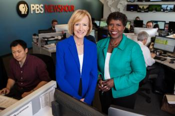 Judy Woodruff and Gwen Ifill