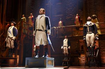 Broadway musical Hamilton