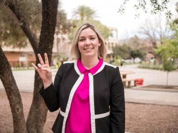 Jordan Hibbs, ASU Psychology Alumna and Presidential Management Fellow