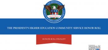 Higher Education Community Service Honor Roll