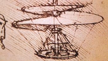 Leonardo's Ornithopter design