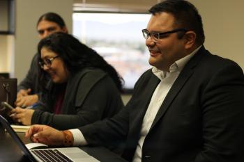 Native American businesspeople