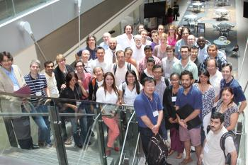 group of conference participants