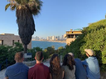 School of Civic and Economic Thought Students visited Israel and the West Bank this summer
