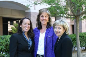 Image of (from left to right) Carla Fisher, Teri Pipe, Katherine Hunt