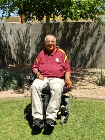 Jim Hemauer, former associate director of ASU Student Accessibility