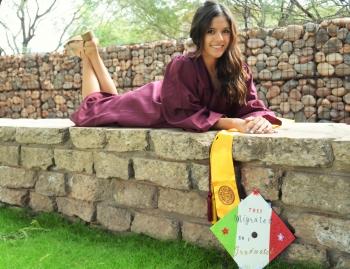 College of Integrative Sciences and Arts graduate Jennifer Gutierrez at ASU Polytechnic campus