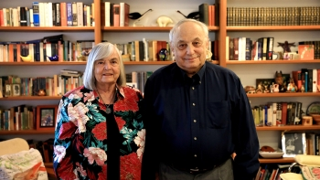 photo of Wendy and Jonathan Rose