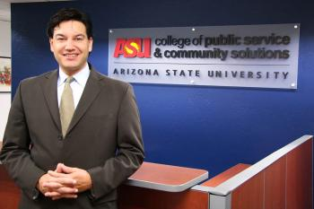 Jonathan Koppel, dean of the College of Public Service and Community Solutions