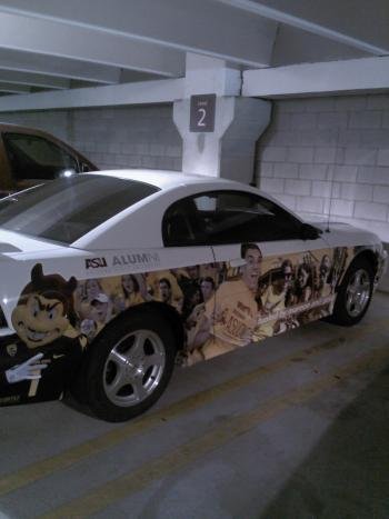 ASU car wrap