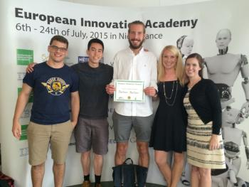 ASU MBA students at European Innovation Academy