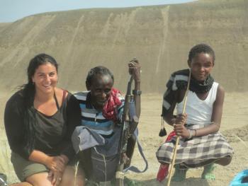 student in Hadar area of Ethiopia