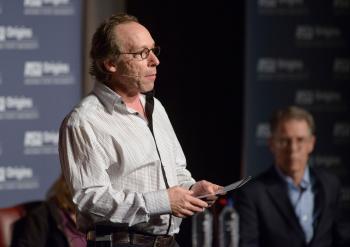 Lawrence Krauss speaking at the Origins Great Debate in 2014