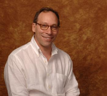portrait of ASU professor Lawrence Krauss