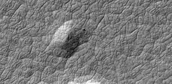 Martian lava coils