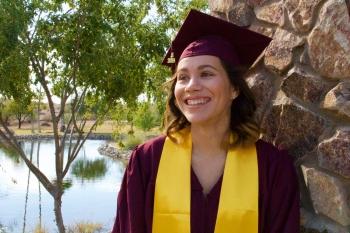 Graduating ASU student Leah Soto / Courtesy photo