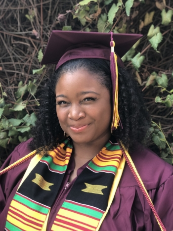 ASU organizational leadership (project management) graduate Leah Elise Thompson