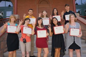 2013-14 Legacy Scholarship recipients
