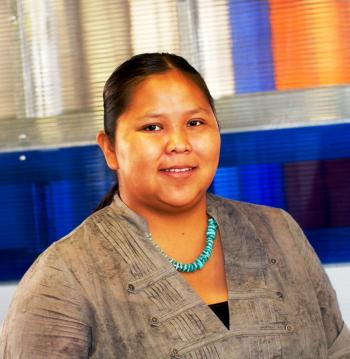 ASU AISES chapter president Letisha Yazzie