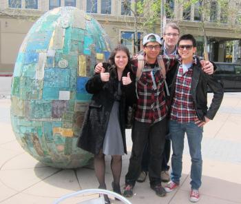ASU student at E-Bootcamp