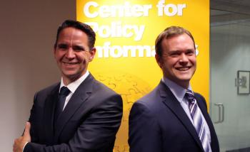 Justin Longo and Erik Johnston of the ASU Center for Policy Informatics