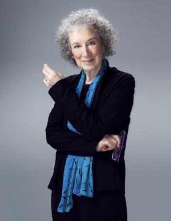 portrait of award-winning author Margaret Atwood