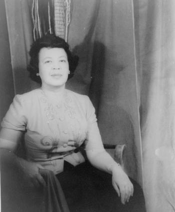 Margaret Bonds portrait 1956
