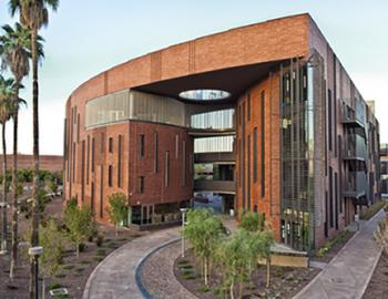 external view of McCord Hall on ASU's Tempe campus