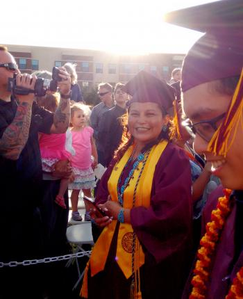 Melodee Lewis: Gila River Early Educators Attaining Teaching Excellence graduate