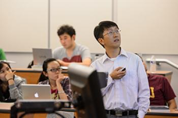 Assistant Professor Zhan Michael Shi