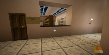Mock up of Digital Culture Equipment pool in Minecraft