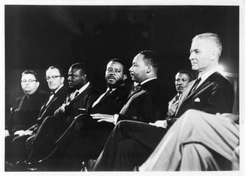 Martin Luther King, Jr., spoke at ASU in 1964