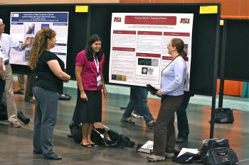 ASU students present 3-D tactile images to national conference