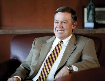 portrait of Michael Crow