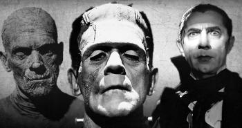 The Mummy, Frankenstein's monster and Dracula.