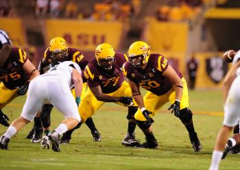 ASU student-athlete Nick Kelly