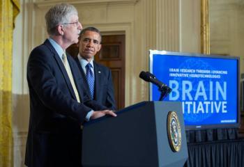 President Obama at the BRAIN Initiative event