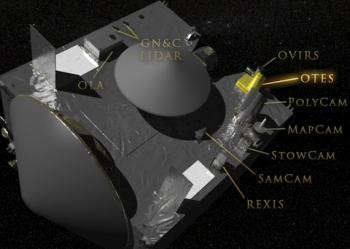 The first space-qualifed instrument to be built at ASU, OTES
