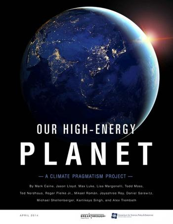 Our High-Energy Planet report cover