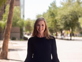 headshot of ASU Associate Professor of psychology Leah Doane